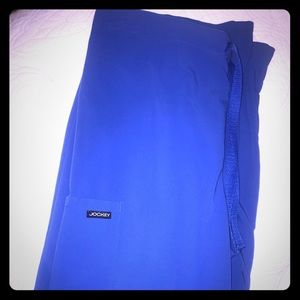 Royal blue Jockey scrub pants